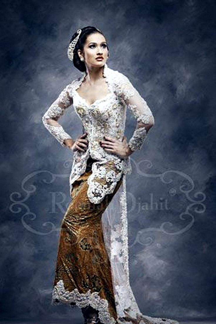 Kebaya, Indonesian National Blouse for Woman