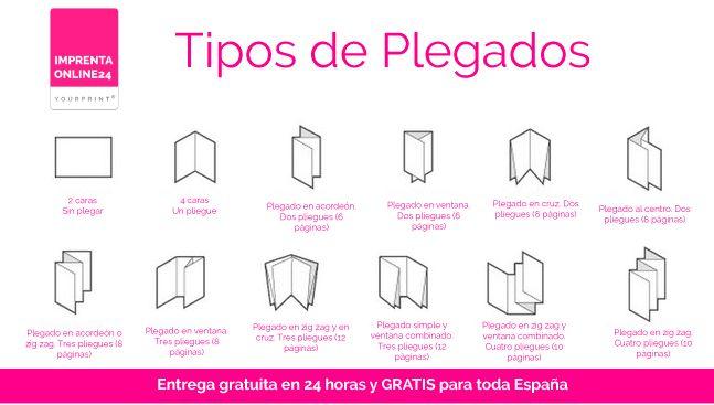 Cómo diseñar e imprimir trípticos originales. Consejos, Tipos y Ejemplos