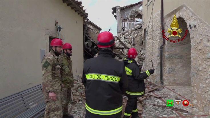 Vigili del Fuoco - Campi - Sopralluogo per copertura tetto chiesa - www....