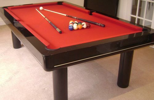 Standard Size Pool Table Glossy