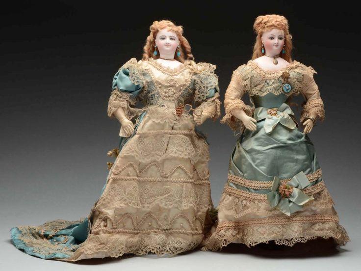 Pair Of All Original Sister Fashion Dolls.