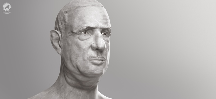 De Gaulle portrait      This serie Visions is a tribute to great historical icons who, even if there are not here anymore, their vision still is