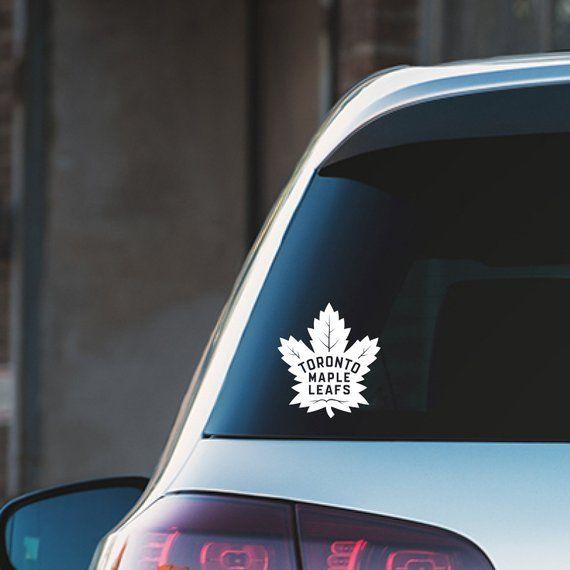 Toronto Maple Leafs Vinyl Decal Sticker Vinyl Decal Stickers Vinyl Decals Vinyl