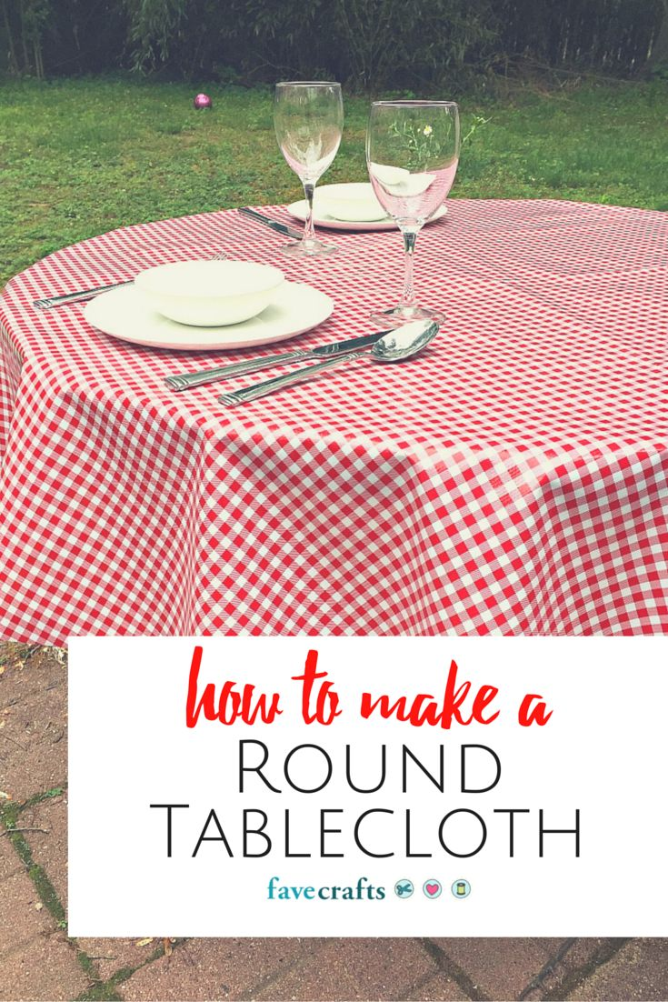 25+ best ideas about Round tablecloth on Pinterest