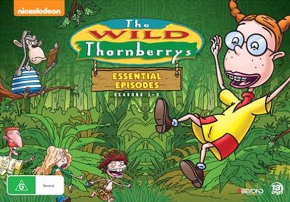 Wild Thornberrys - The Essential Episodes - Season 1-5 - Limited Edition, The