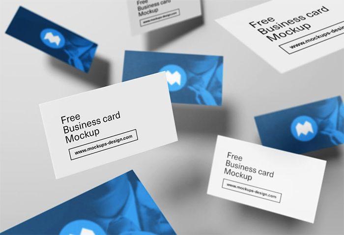 36 Free Psd Business Card Mockups Business Card Mock Up Free Business Card Mockup Business Cards Mockup Psd