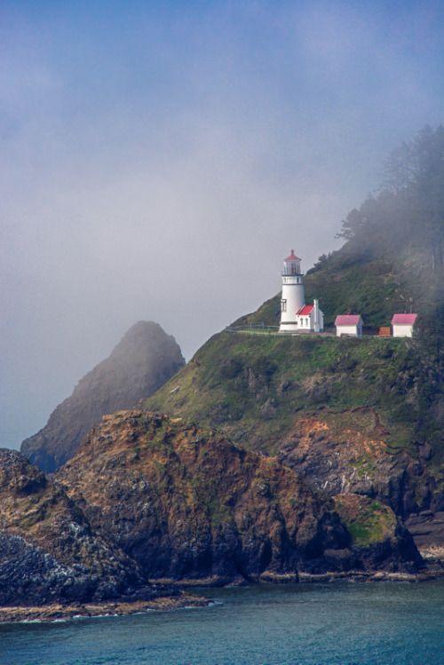 Heceta Head #Lighthouse by Bobshots http://dennisharper.lnf.com/