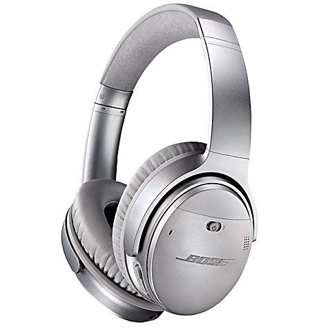 Buy Bose® QuietComfort® Noise Cancelling® QC35 Over-Ear Bluetooth NFC Headphones With Mic/Remote, Black Online at johnlewis.com