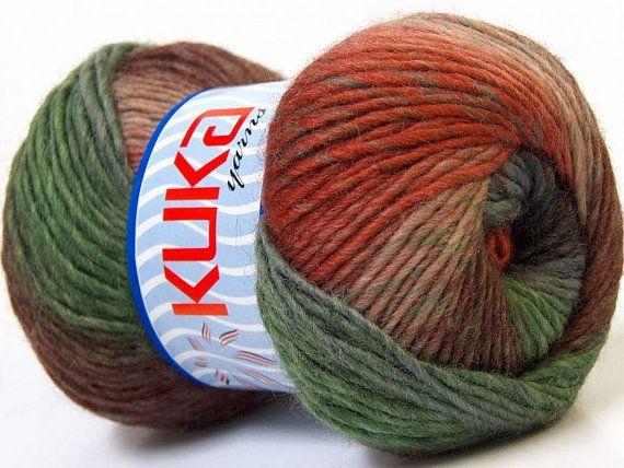 Knitting yarn Magic Wool DeLuxe 100 wool knit by specialyarnshop, $11.50