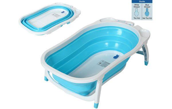 Bañeras plegables para bebés