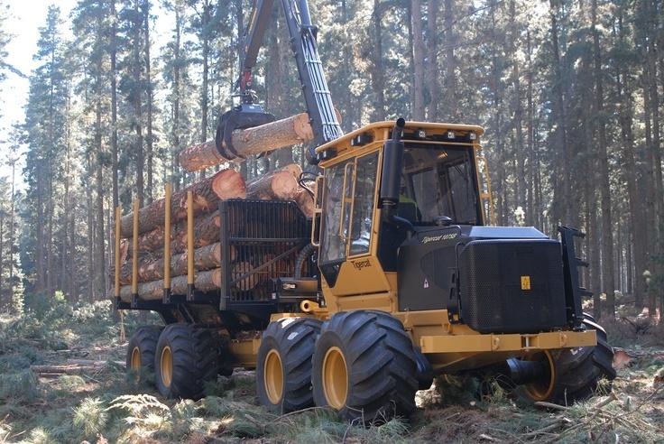 Tigercat 1075B Forwarder | Tractors and Heavy Equipments ...