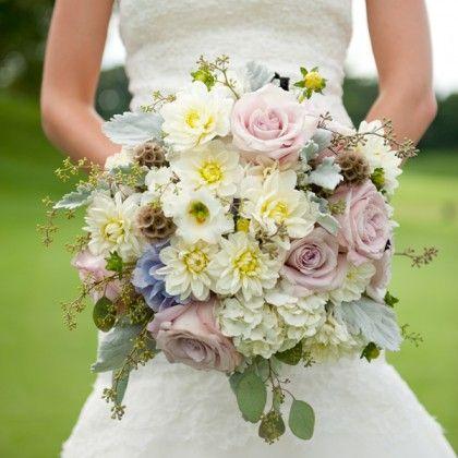 Фото - свадебные букеты