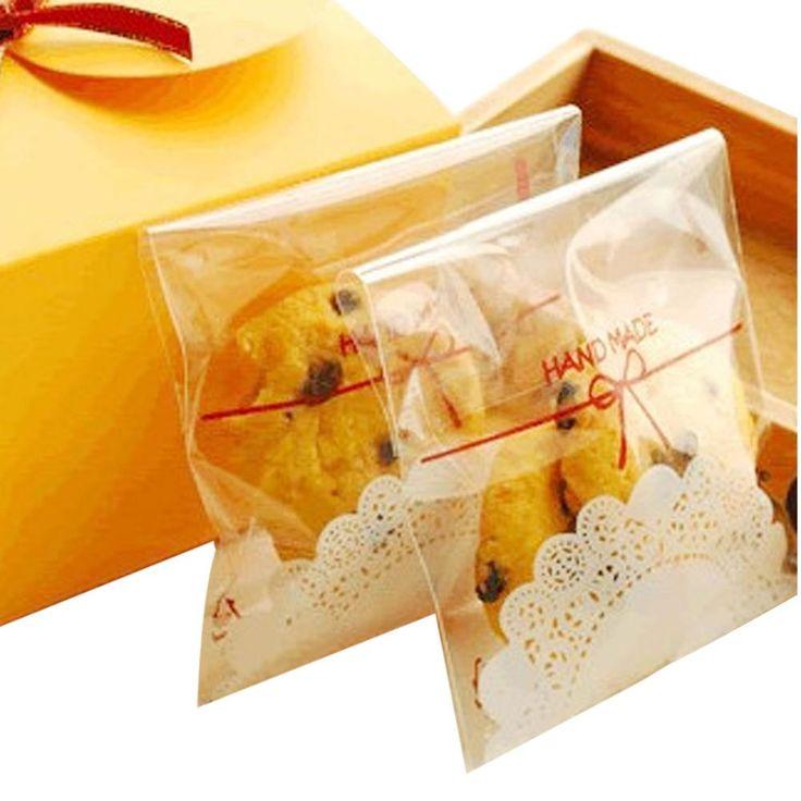 Привлекательный печенье упаковка белого кружева с бантом самоклеящиеся пластиковые пакеты для печенья снэк выпечки пакета 120 шт./лот 2 размер, принадлежащий категории Упаковочные пакеты и относящийся к Промышленность и бизнес на сайте AliExpress.com | Alibaba Group