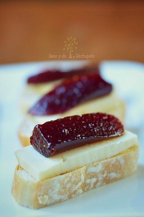 ¡Sano y de rechupete!: Dulce o conserva de ciruelas (plum jam)