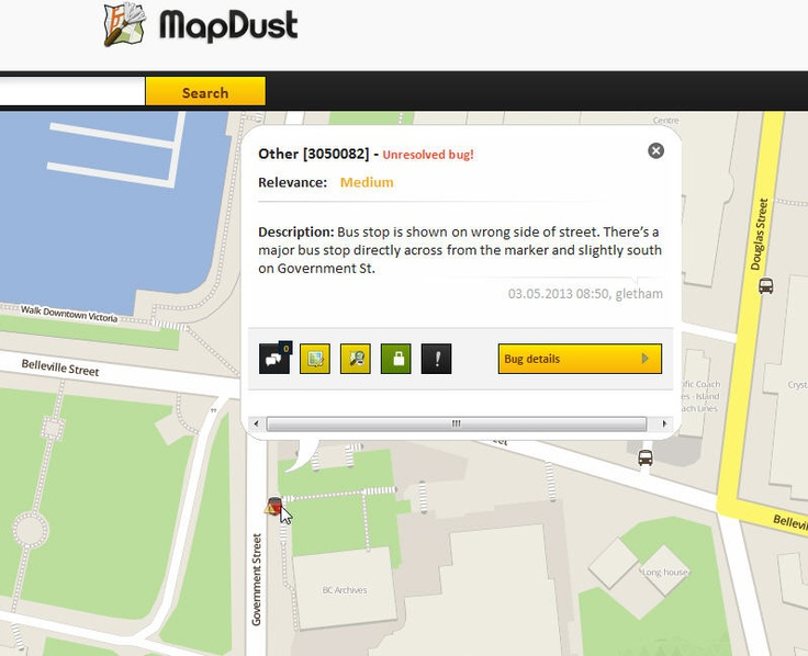 Mapdust OSM map editor resource from Skobbler