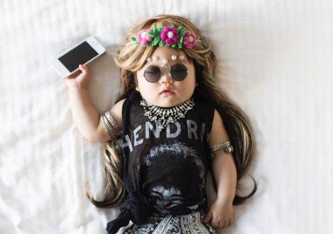 Esta hermosa bebé es la sensación en Instagram