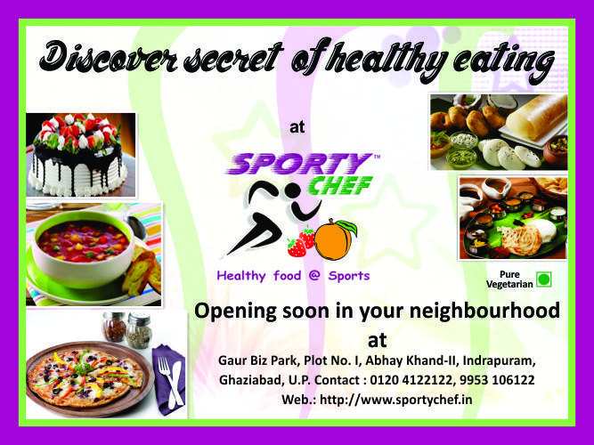 an opening soon restaurant flyer for a client