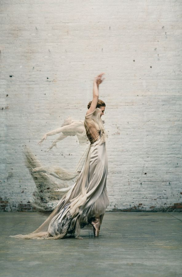 Beautiful rendering of the dance of love, and the grace and passion of emotions on one's wedding day. ~ETS (Ballet Inspired Wedding Ideas from Amy Osaba | OnceWed.com)