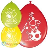 Ballonnen Woezel en Pip: 8 stuks -  Koppen.com