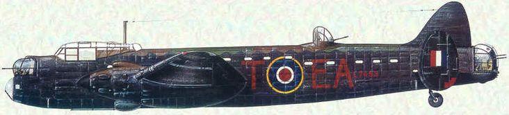 Avro 679 Manchester B.Mk.I / Unit: 49 Sqn, RAF / Great Britain