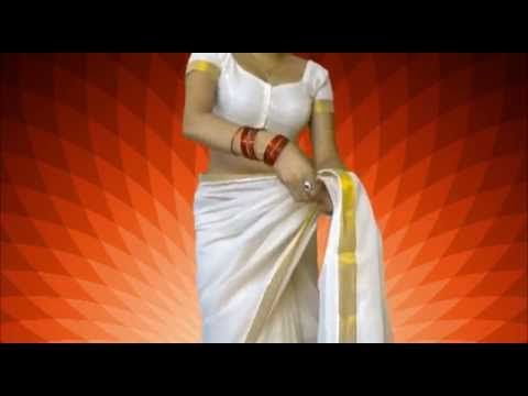 Wear South Indian Saree Perfectly With Me:Sexy Sari Draping Like Brides - YouTube