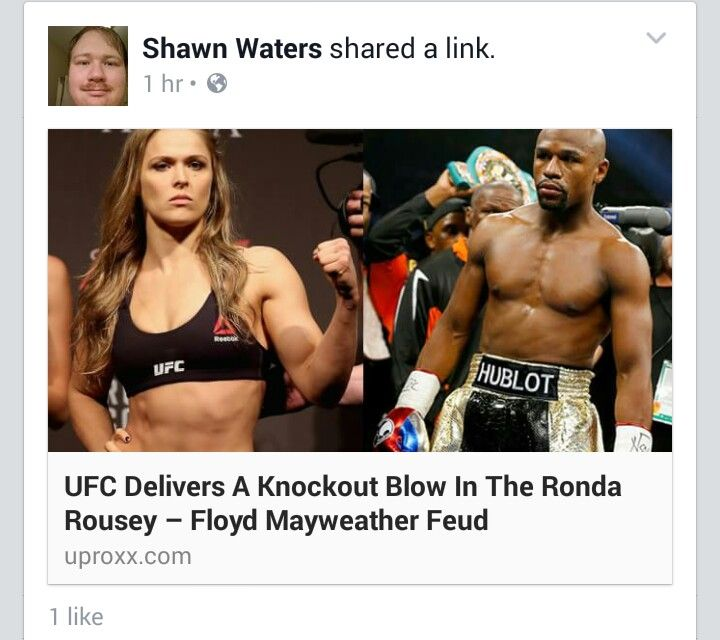 Ronda Rouse Fights and Beaten Floyd Mayweather