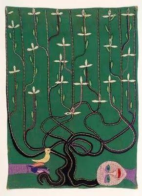 """Violeta Parra """"Volver a los diecisiete"""" pintura: Violeta Parra"""