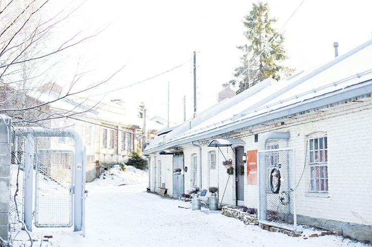 Winter in Kellokoski, Finland