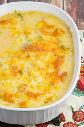 This Cheesy Shrimp And Grits Casserole Recipe on Food.com is a delightful addition brunch.