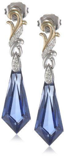 S&G Sterling Silver and 14K Yellow Gold Created Sapphire and Diamond Kite Design Drop Earrings Amazon Curated Collection,http://www.amazon.com/dp/B00CEPFHO8/ref=cm_sw_r_pi_dp_rjxCtb1E0CWBQPPM