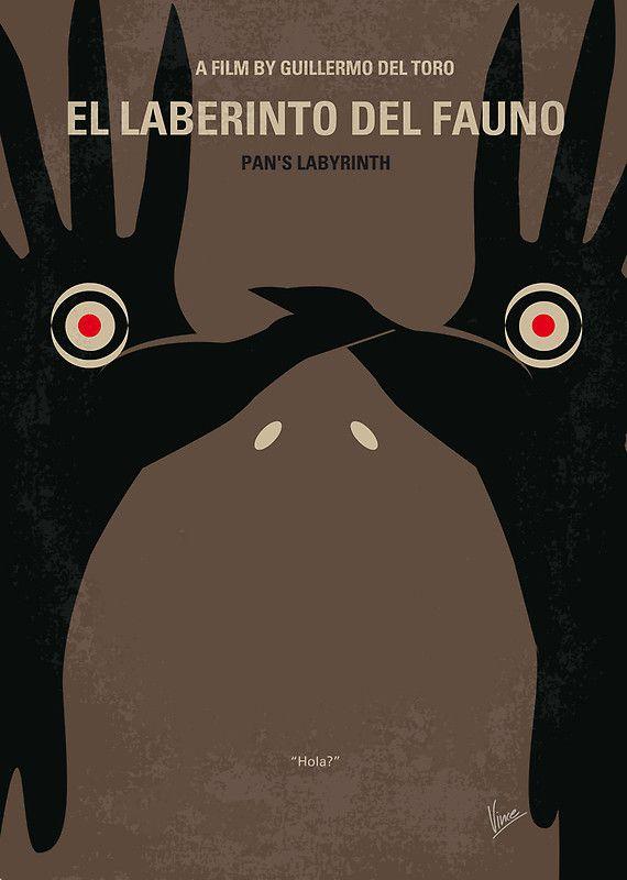 No061 My Pans Labyrinth minimal movie poster by Chungkong