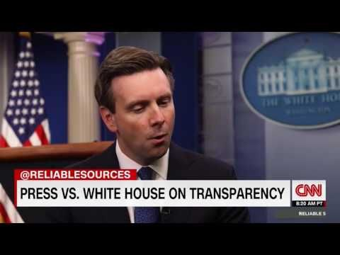 Josh Earnest Has Meltdown Mid-Interview Because People Can't Recognize How Great Obama Is – Conservative 101