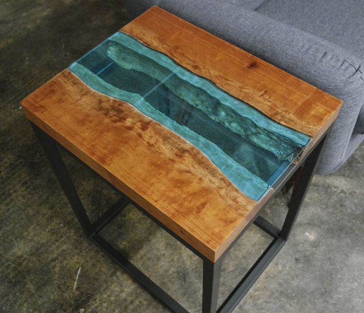 Epoxy, Rivers, River, Synthetic Resin