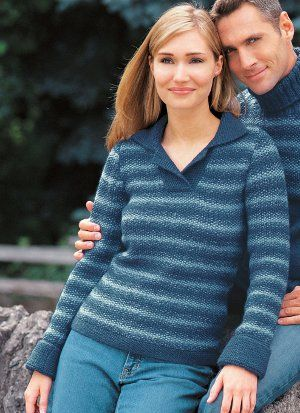 There's nothing better than curling up with a great book and a cup of tea while wearing your favorite pullover. The Favorite Seed Stitch Pullover offers everything you love about your favorite sweater in a classic stitch design.