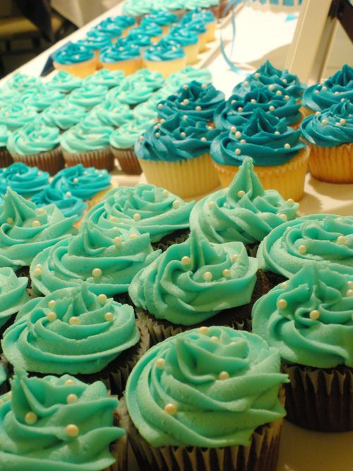 25 Best Ideas About Turquoise Cupcakes On Pinterest