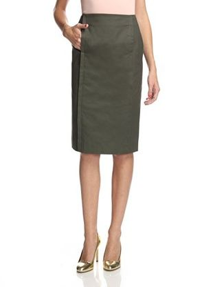 34% OFF Kate Spade Saturday Women's Straight Skirt (Dark/Green)