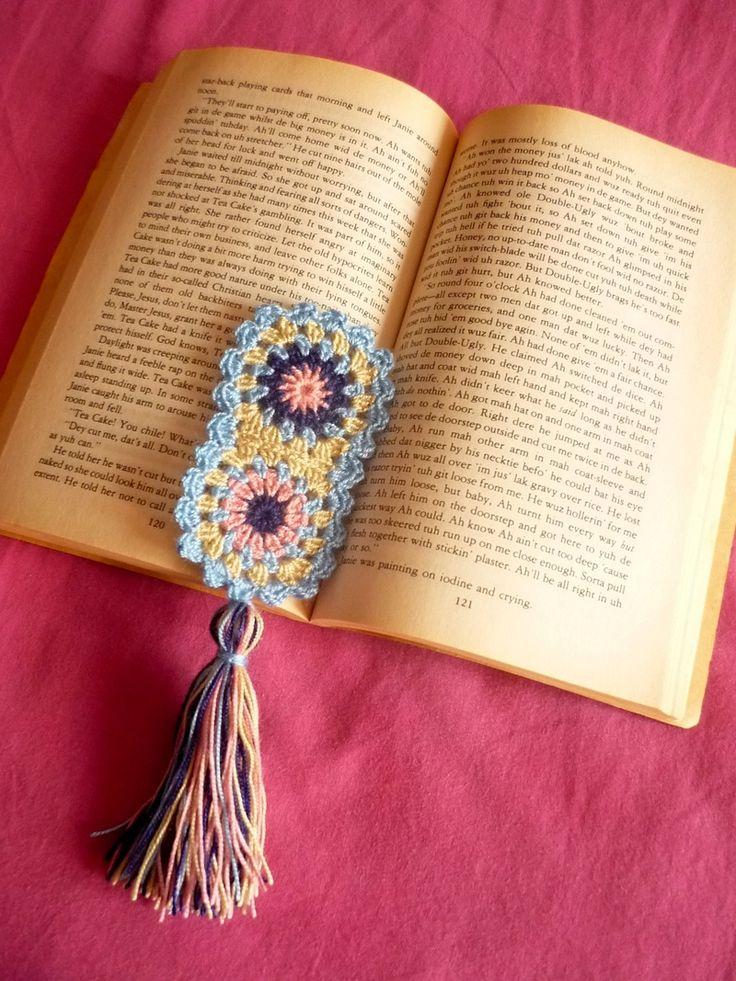92 besten Crochet-Bookmarks Bilder auf Pinterest | Lesezeichen ...