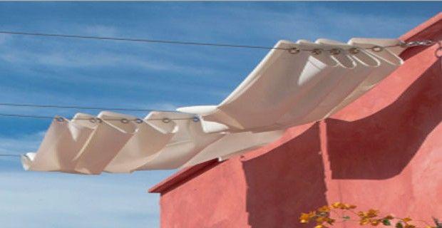 Faire un Brise Soleil en Toile pour la Terrasse