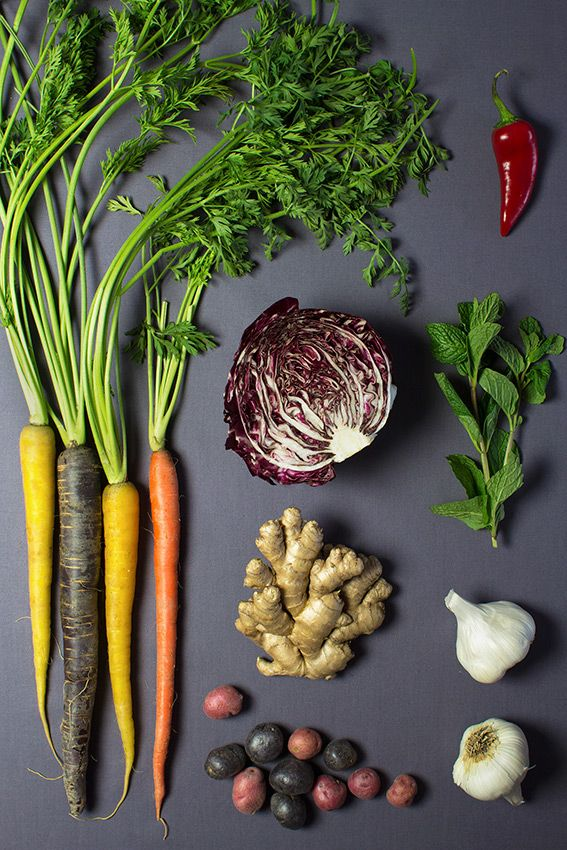Eat the rainbow of vegetables by La Domestique