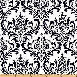 custom wing chair???? Premier Prints Traditions White/Navy Blue