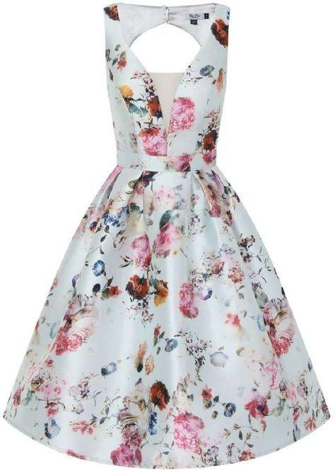 *Chi Chi London Petite Open Back Midi Dress
