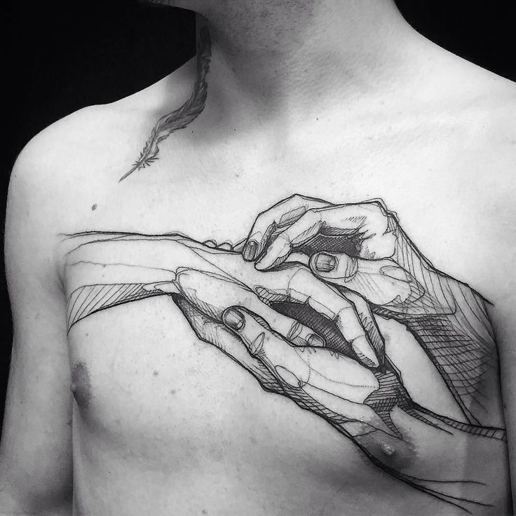 Line work Tattoo