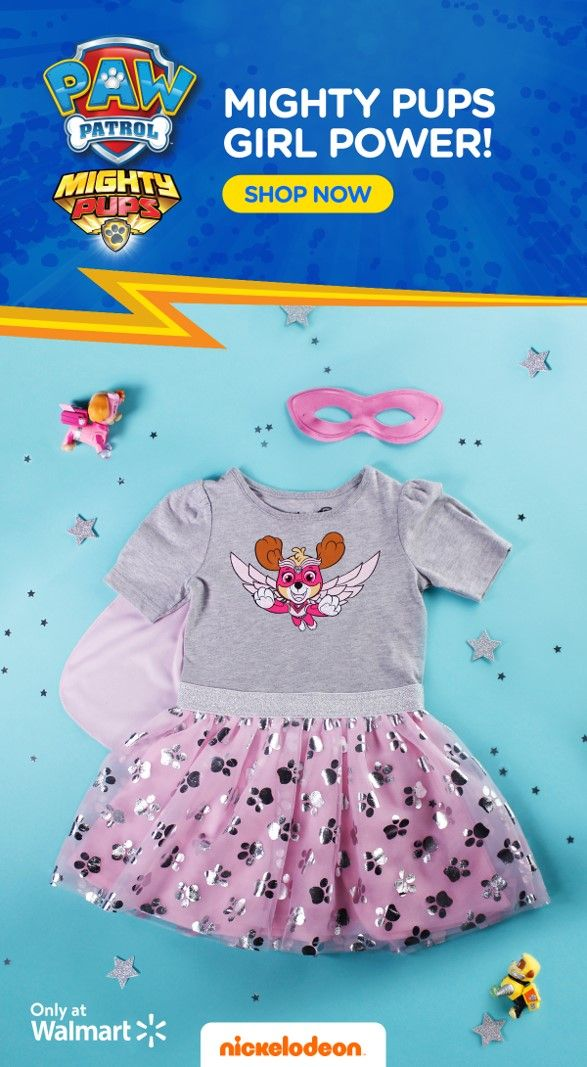 Nickelodeon Paw Patrol Dress The dress is a main brand kids