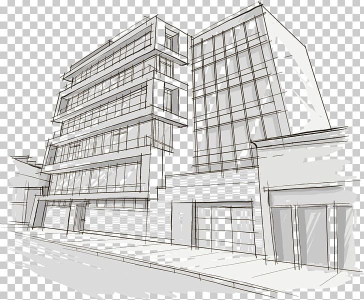 Drawing Building Architecture Png Angle Apartment Black And White Building Buildings Architecture Building Building Building Drawing