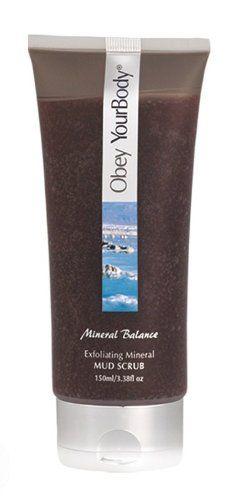 Obey Your Body Dead Sea Exfoliating Facial Mud Scrub Face Wash - ADSBeauty $14.80