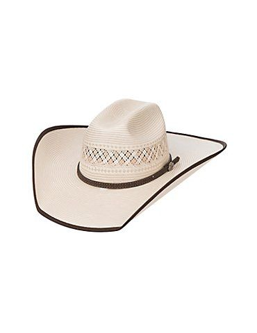 Cavender's Cowboy Collection 10X Two Tone Vented Straw Cowboy Hat | Cavender's