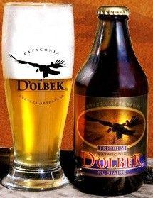 Cerveja Patagonia D'Olbek, estilo Premium American Lager, produzida por Fabrica de Cerveza Artesanal D´Olbek, Chile. 4.5% ABV de álcool.