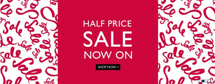 Half price sale web banner from Moss Bros #Web #Banner #Digital #Online #Marketing #Sale #Fashion