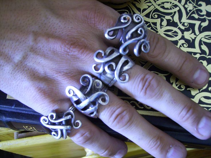 Best fork jewelry I've seen yet. I need a fork ring to go with my fork bracelet!