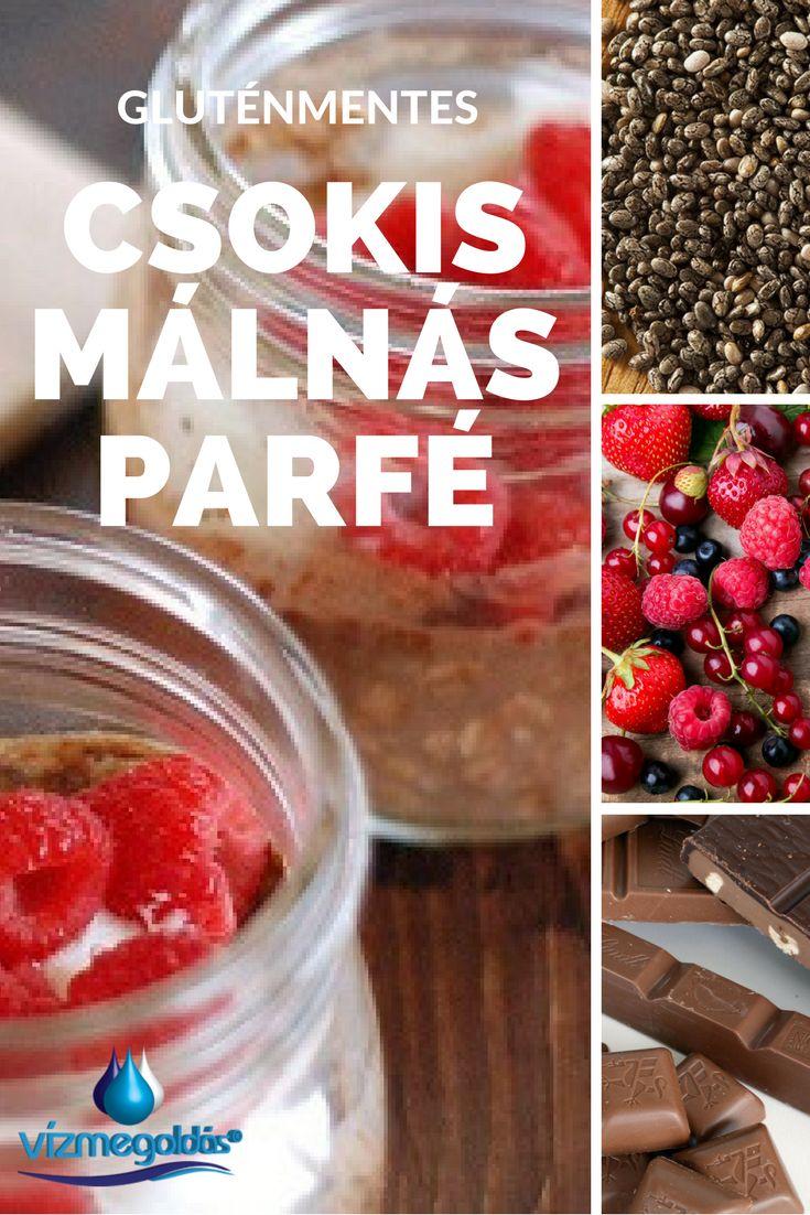 Egészséges receptek - Vegán, nyers és gluténmentes – csokoládés málnás parfé reggelire